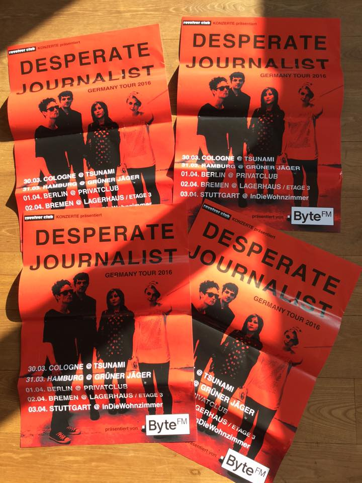 Save the date: 03.04. Desperate Journalist