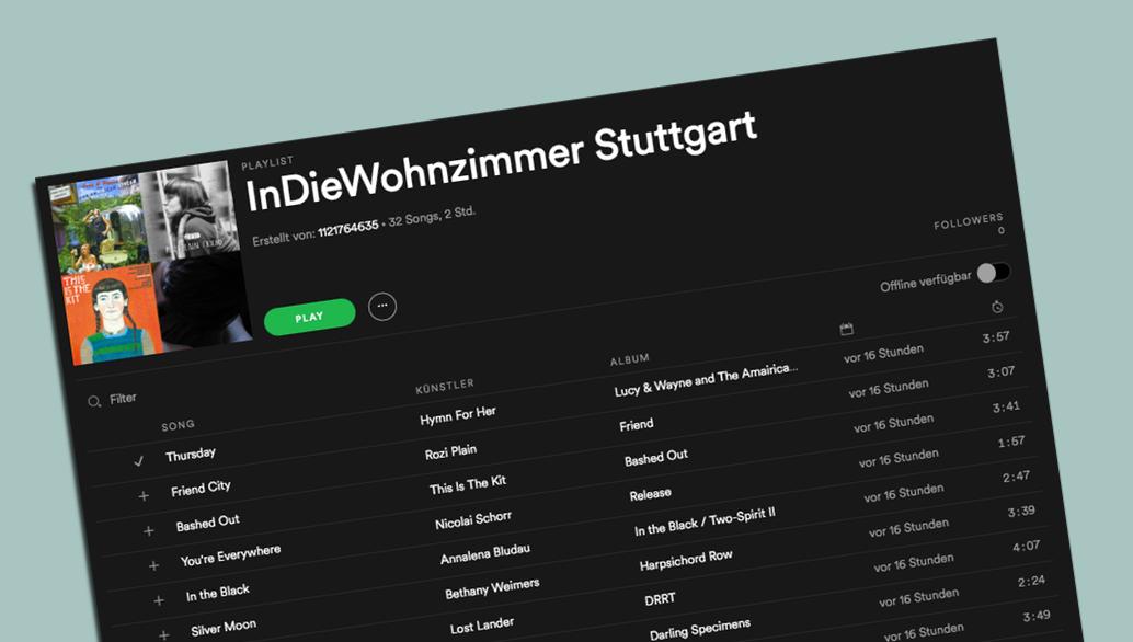 InDieWohnzimmer Stuttgart @ Spotify