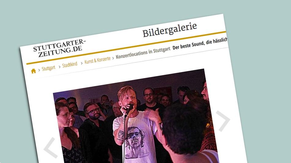 """StZ: """"Die wichtigsten Konzertlocations Stuttgarts"""""""